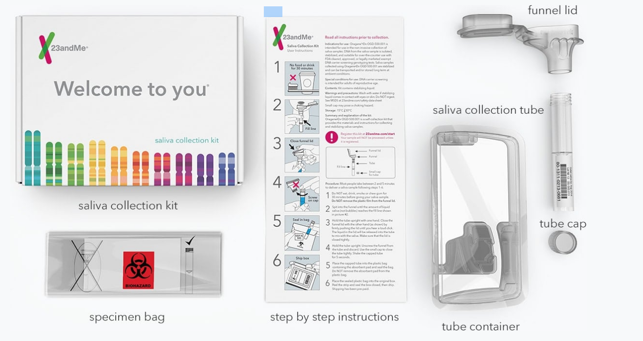 23andMe Collection Kit