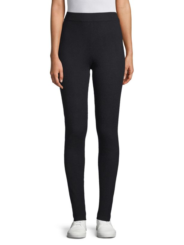 Cashmere leggings by qi new york saks fifth avenue