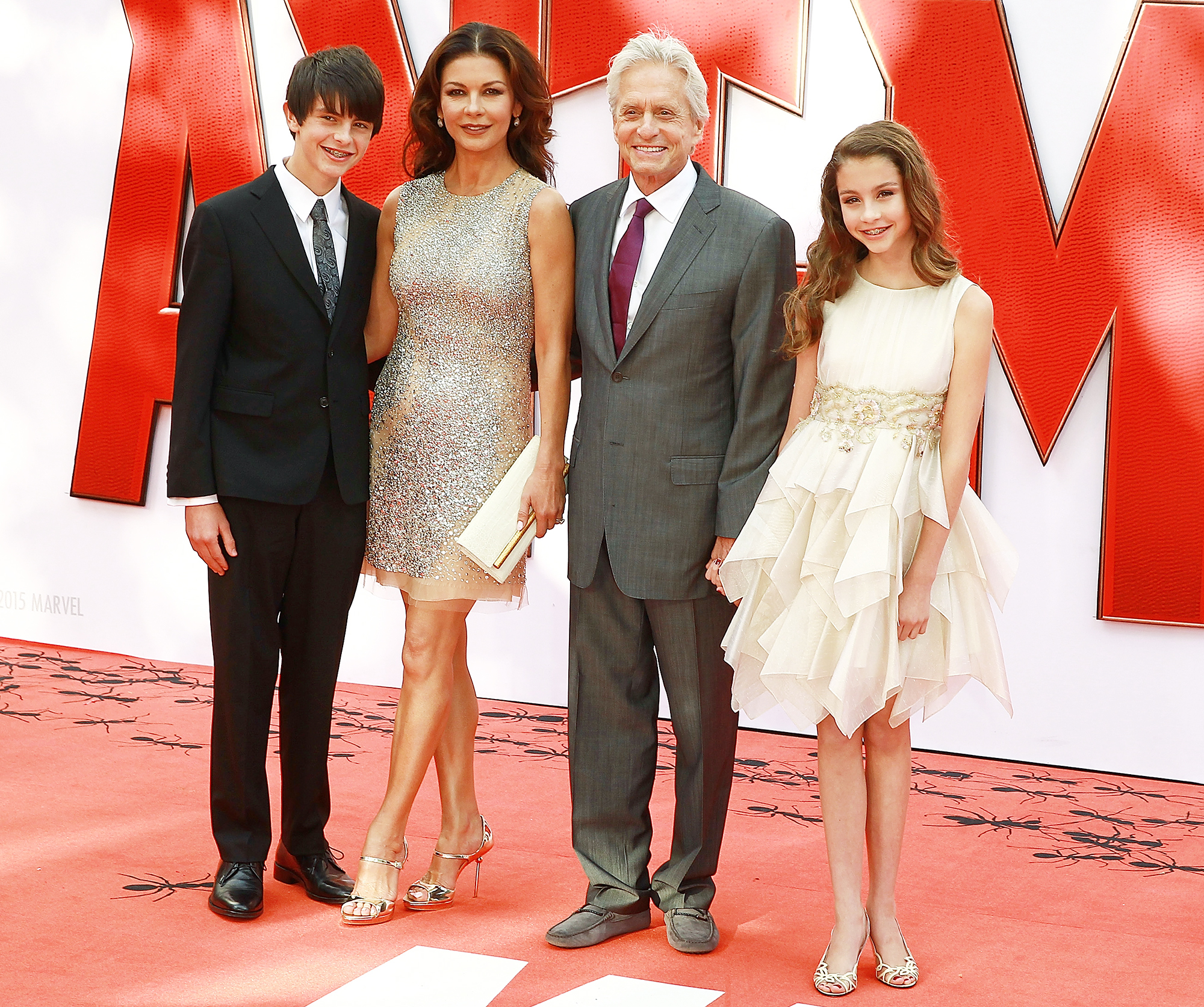 Catherine Zeta Jones Kids Devastated Michael Douglas Allegations