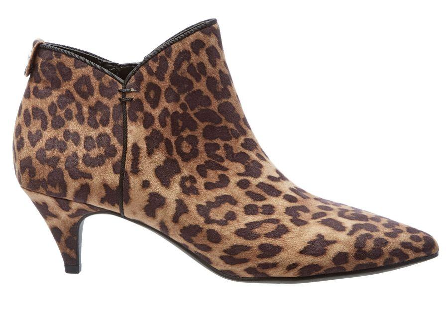 Circus by Sam Edelman Keri Leopard Print Ankle Boots