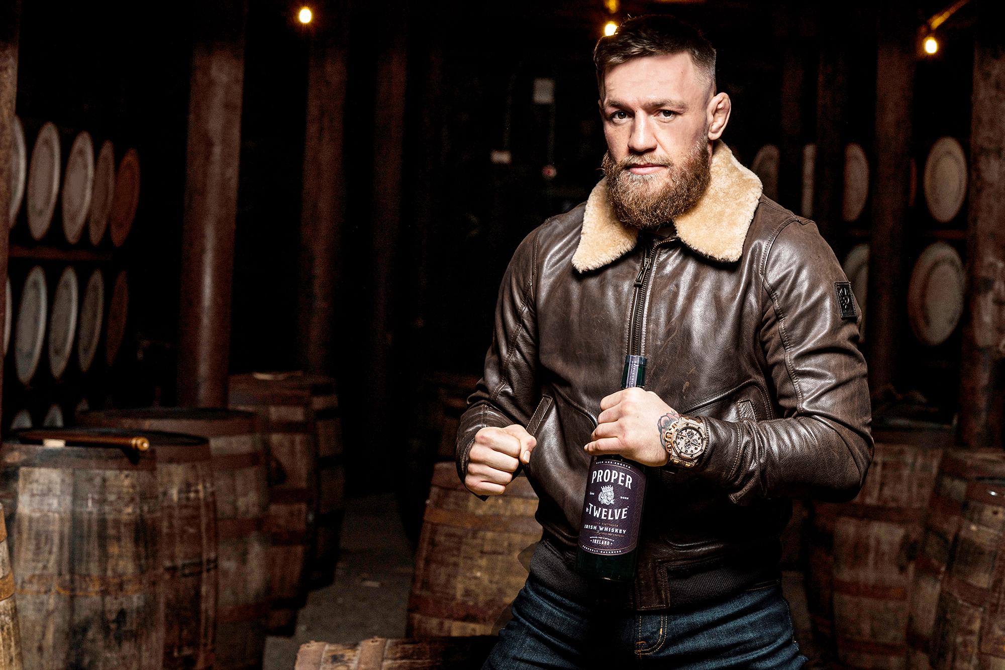 Conor McGregor roper No. Twelve Whiskey Out Of Stock