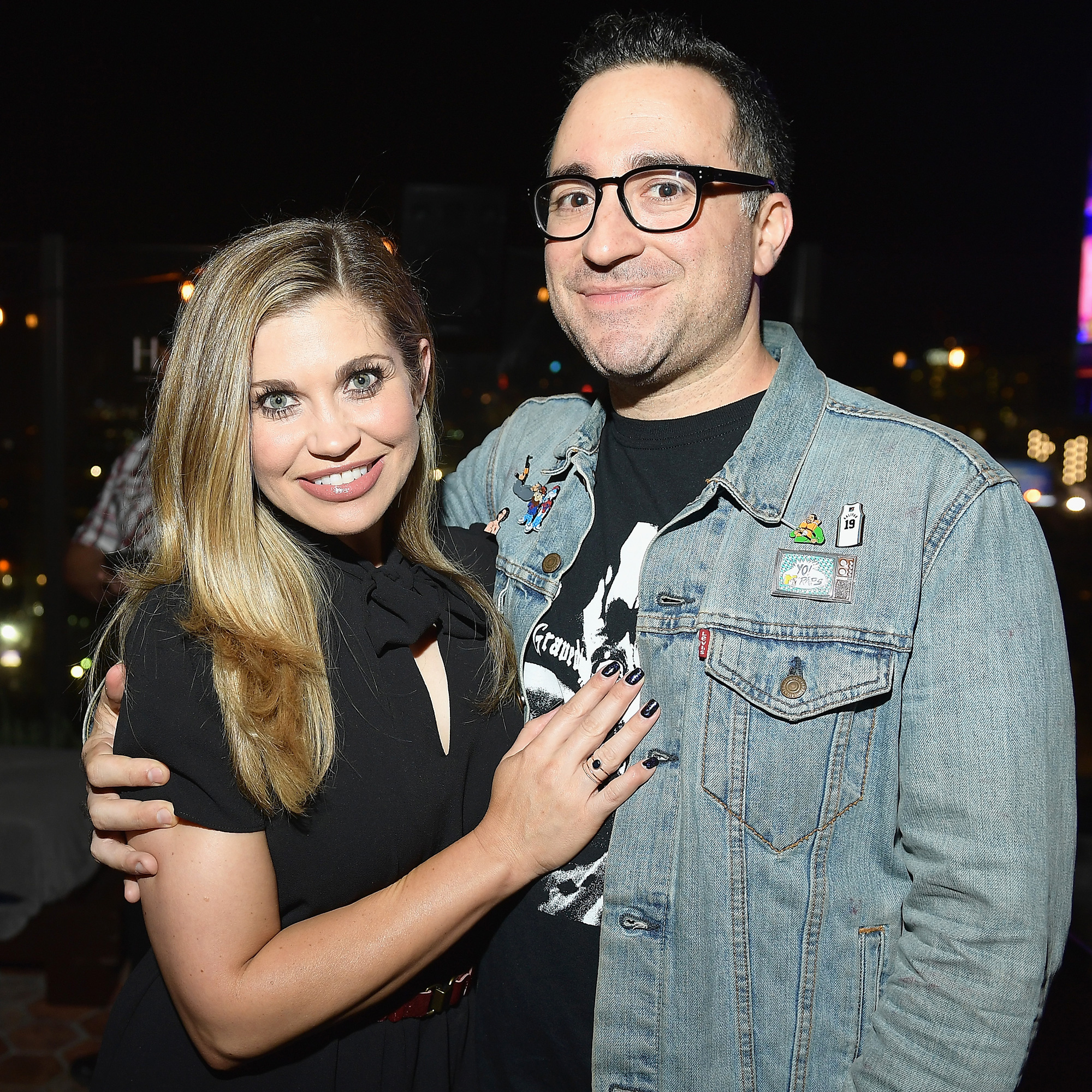 Danielle Fishel, Jensen Karp, Married