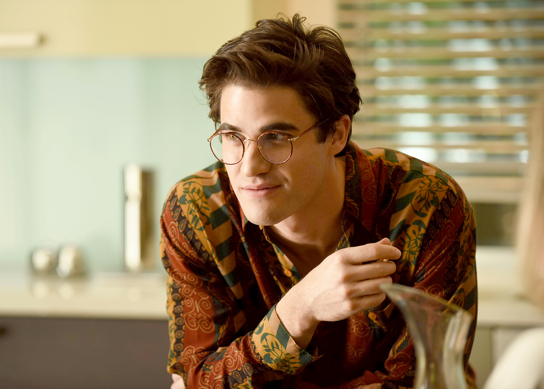 Darren-Criss-assassination - The Emmy speaks for itself. Criss took on killer Andrew Cunanan in Ryan Murphy's The Assassination of Gianni Versace: American Crime Story without missing a beat.