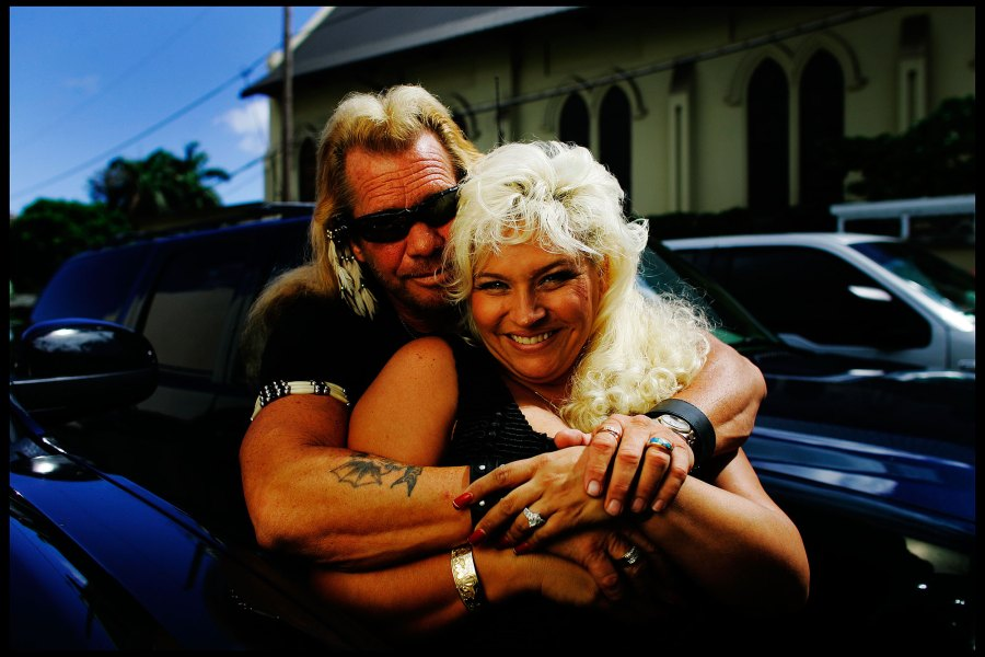 Beth Chapman and Duane Chapman
