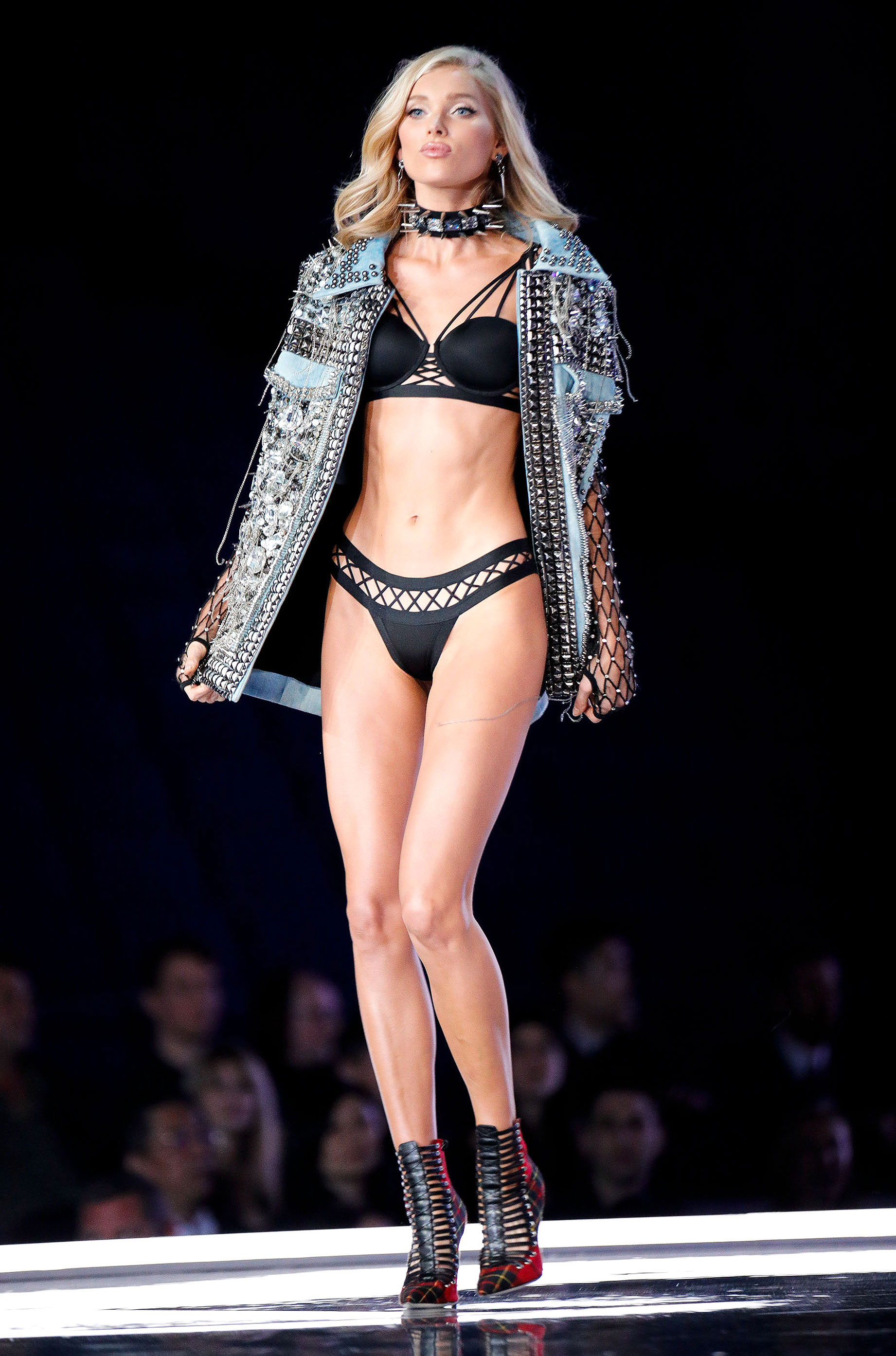 3817bbcd94b Elsa Hosk s Victoria s Secret Fashion Show Runway Looks  Pics