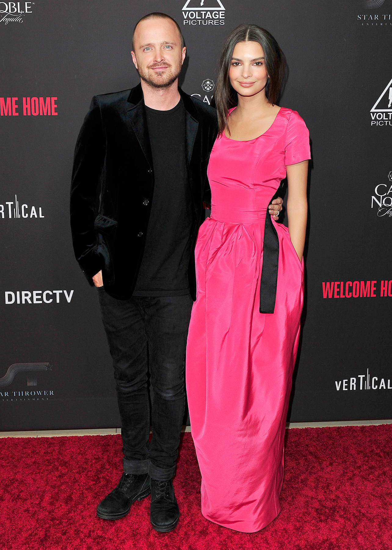 Emily Ratajkowski and Aaron Paul