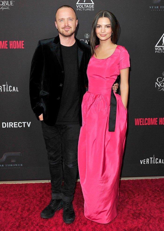 Emily Ratajkowski and Aaron Paul