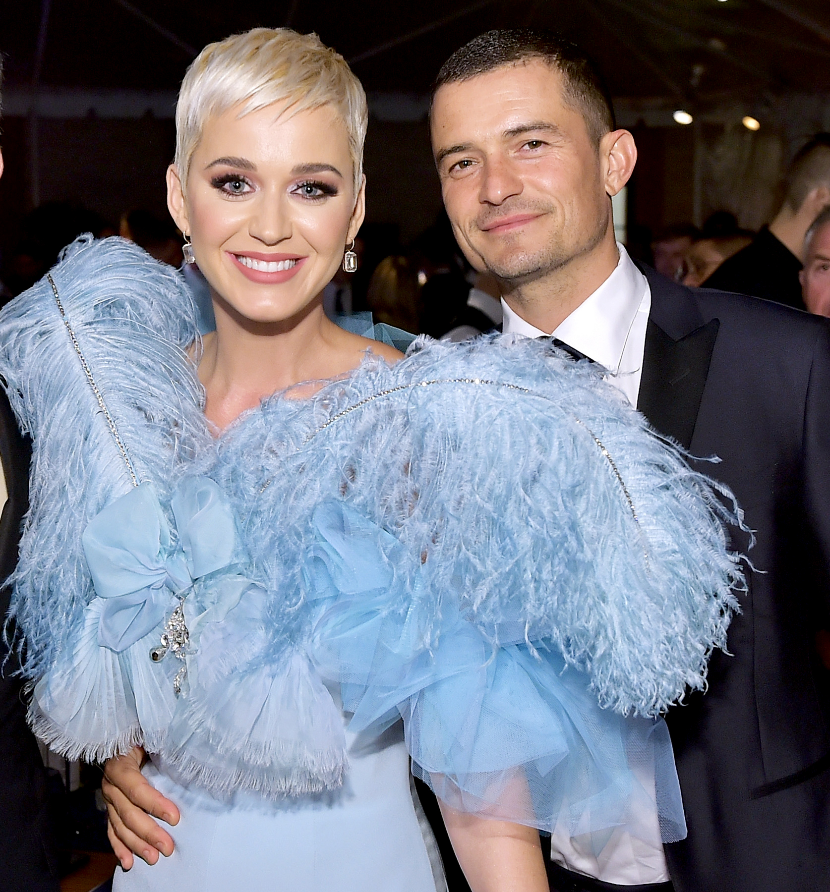 Engagement-and-baby-rumors katy perry orlando bloom - BEVERLY HILLS, CA – OCTOBER 18: Mayor of Los Angeles Eric Garcetti, Katy Perry, and Orlando Bloom attend the amfAR Gala Los Angeles 2018 at Wallis Annenberg Center for the Performing Arts on October 18, 2018 in Beverly Hills, California. (Photo by Stefanie Keenan/Getty Images for Perrier-Jouët and Absolut Elyx)