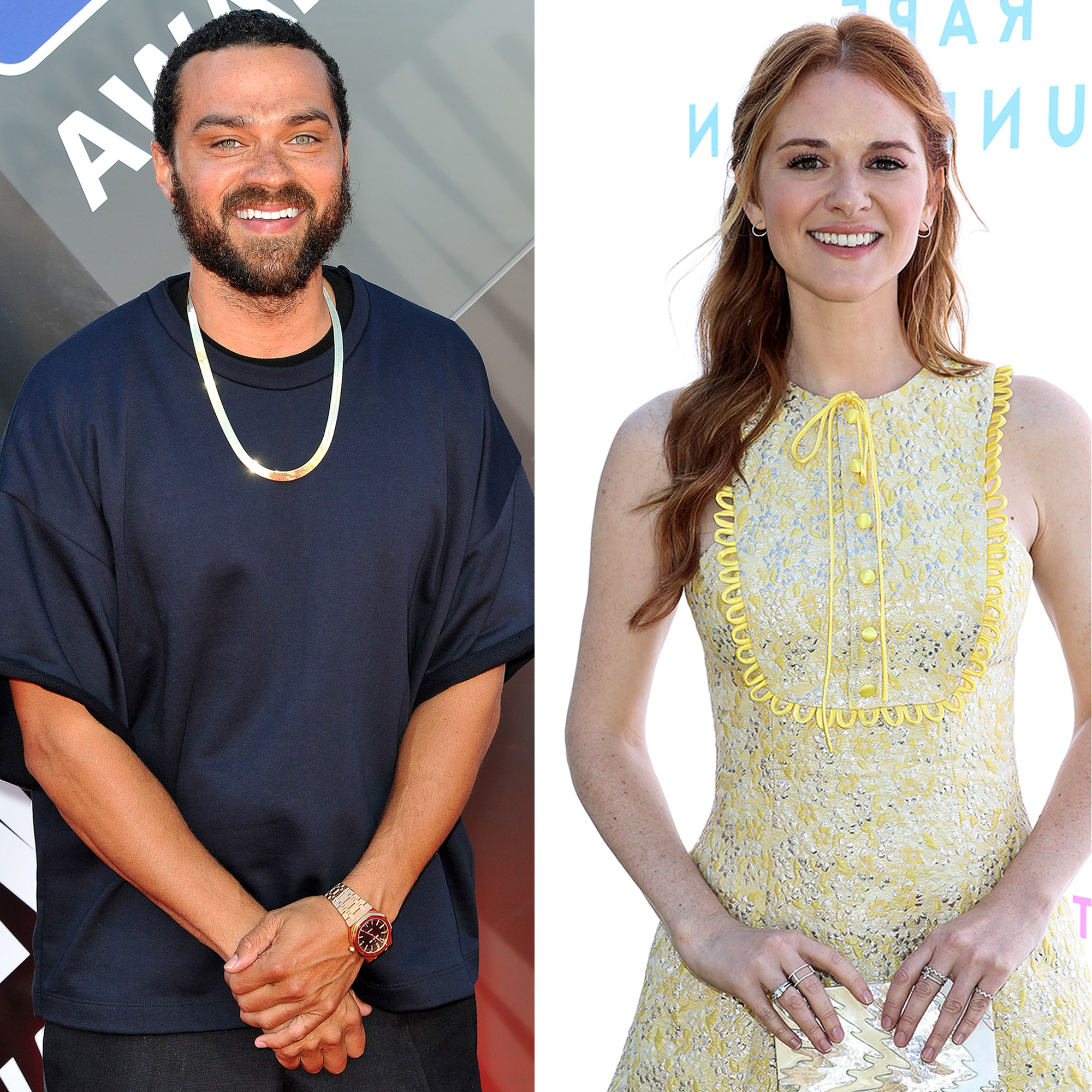 Jesse Williams - Jesse Williams at The 2018 NBA Awards Show in Santa Monica, California on June 25, 2018; Sarah Drew The Rape Foundation's Annual Brunch in Beverly Hills, California October 7, 2018.