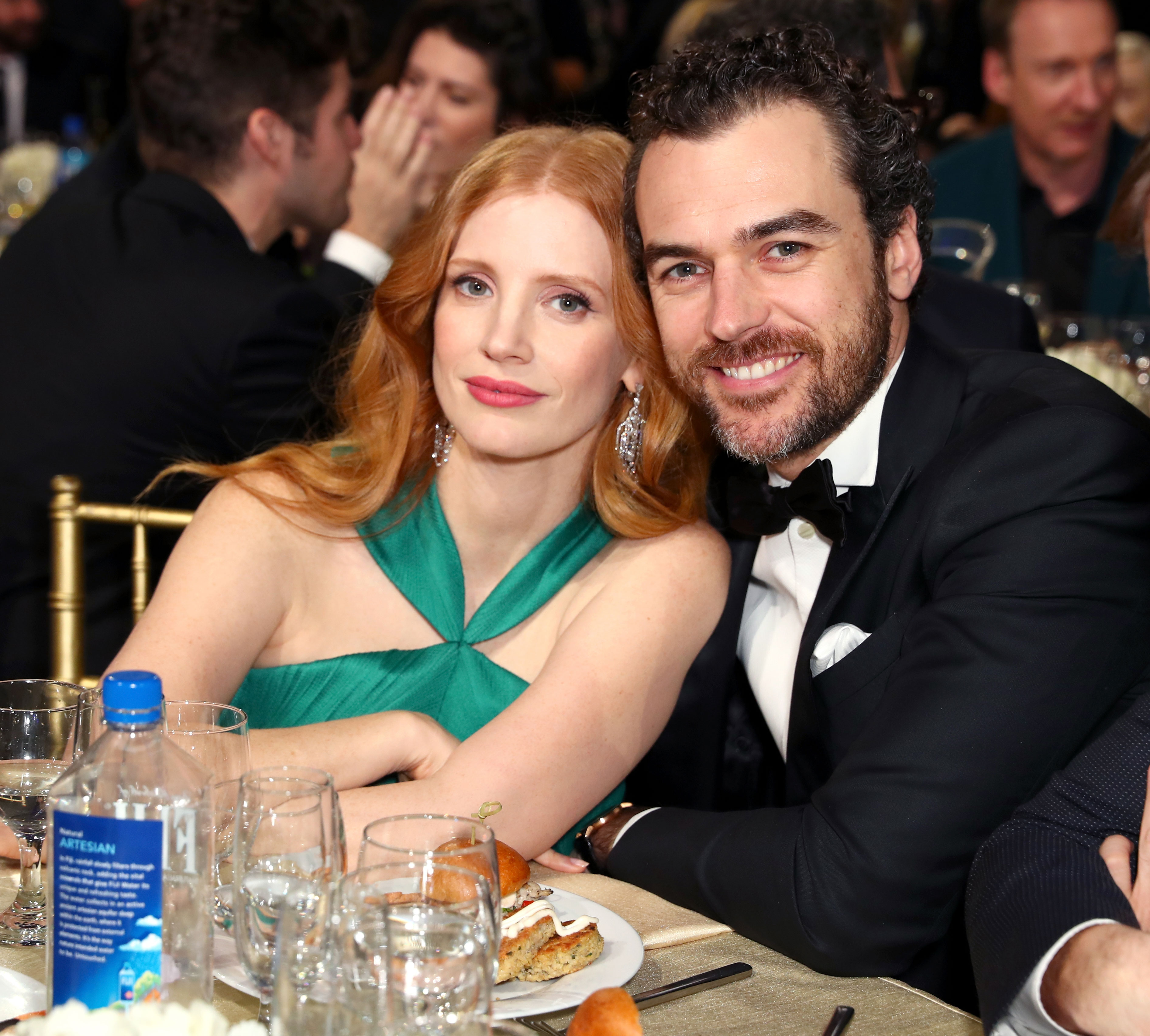 Jessica Chastain Gian Luca Passi de Preposulo - In November 2018, an Us source revealed the two-time Oscar nominee had secretly welcomed a baby with her husband, weeks after she was spotted with a baby stroller on the Boston set of an upcoming movie.