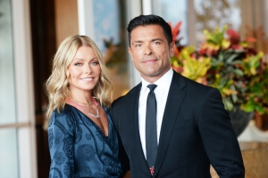 Kelly Ripa Jokes Her Older Kids Are 'Disgusted' By Her PDA With Mark Consuelos