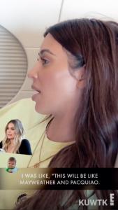 Kim Kardashian Threatens Tristan Thompson