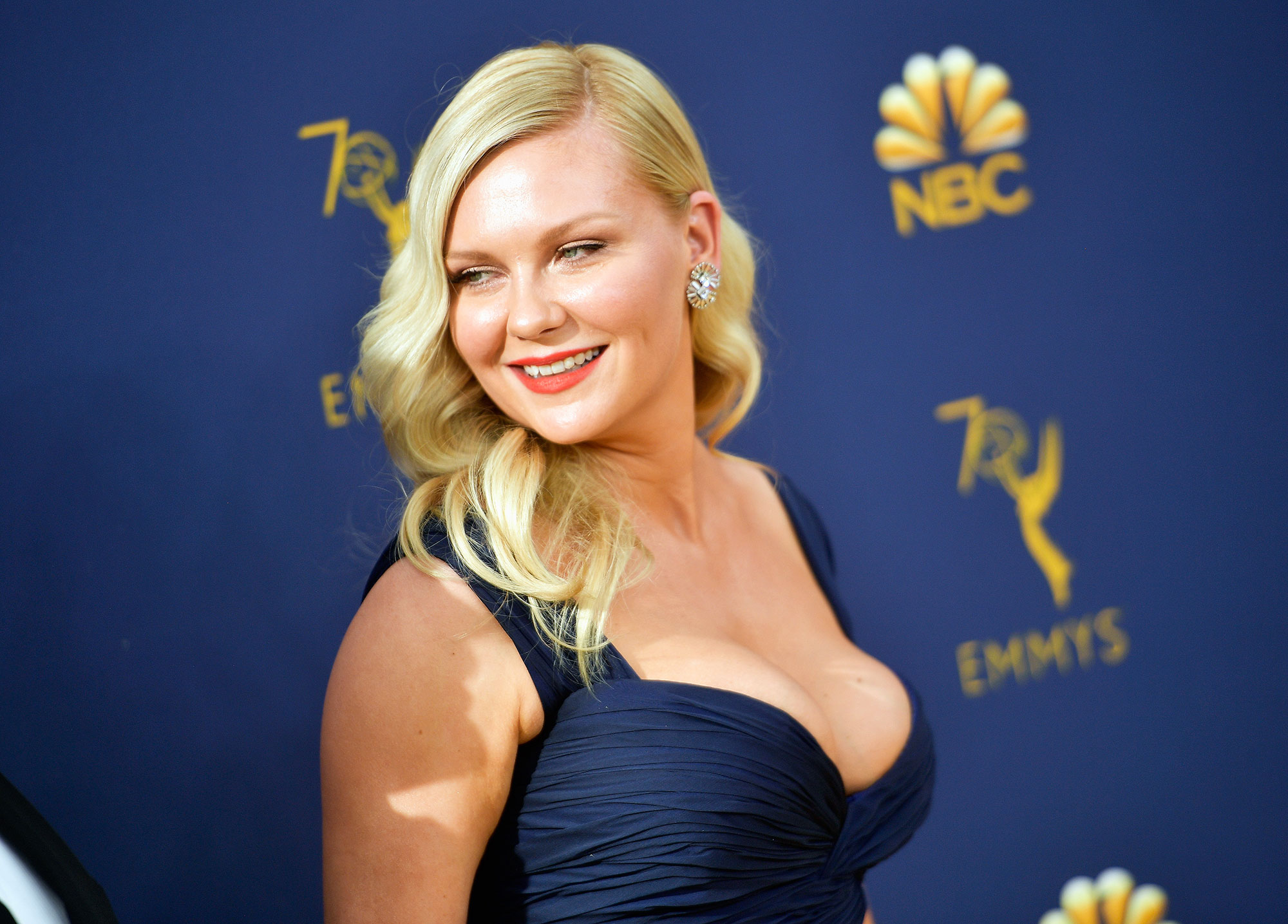 Kirsten Dunst Films In A Bathing Suit 6 Months After Giving Birt