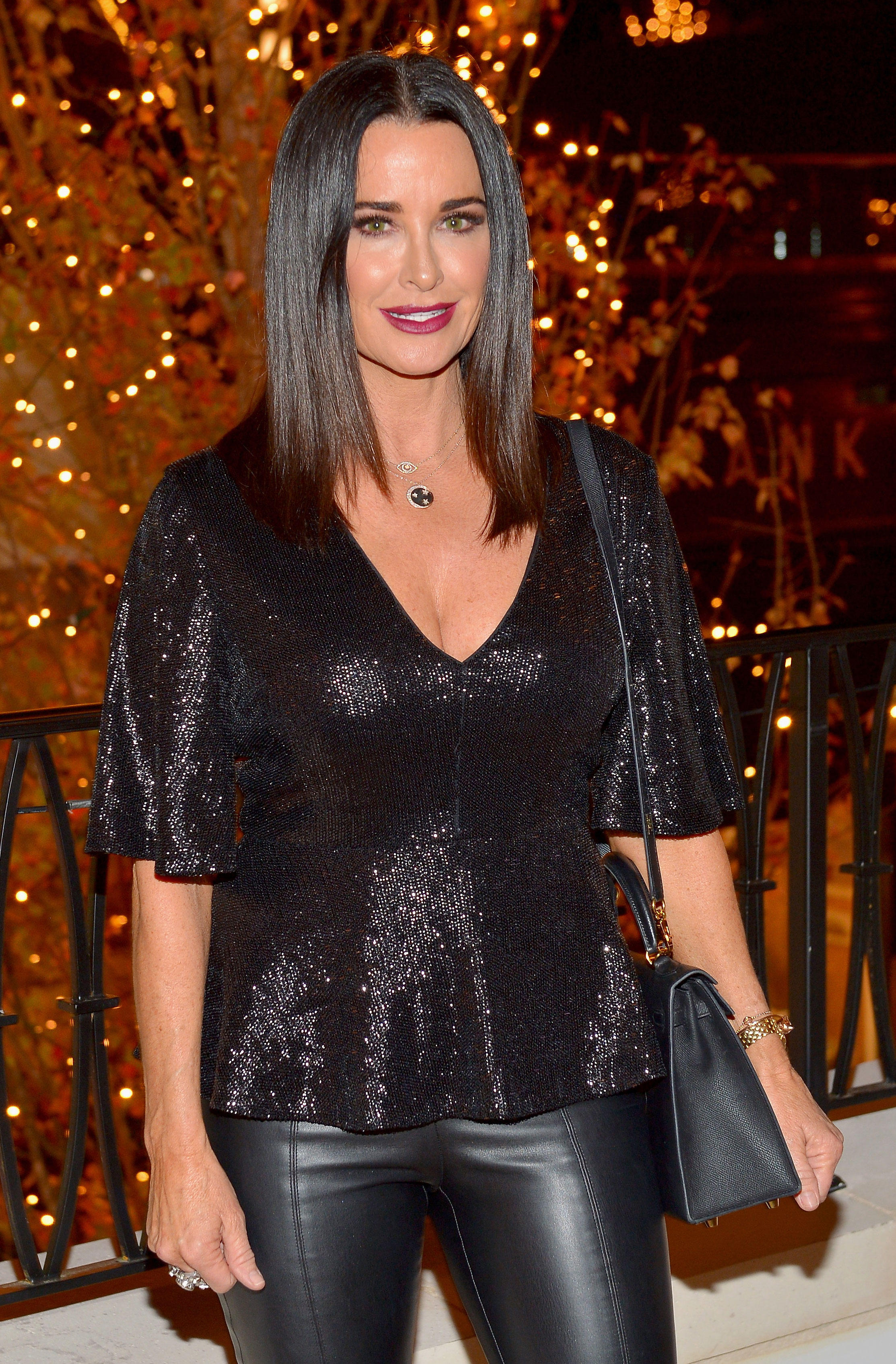 """Santa's Naughty or Nice List - """"I'm on the nice list, my girls are on the nice list,"""" the Real Housewives of Beverly Hills star and mother for four, tells Us . """"Some people are on the naughty list, but not me."""""""