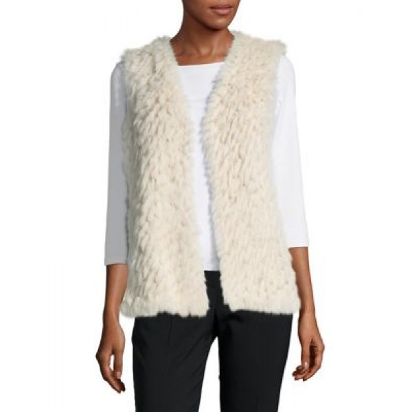 Linda Richards Rex Rabbit Fur Vest