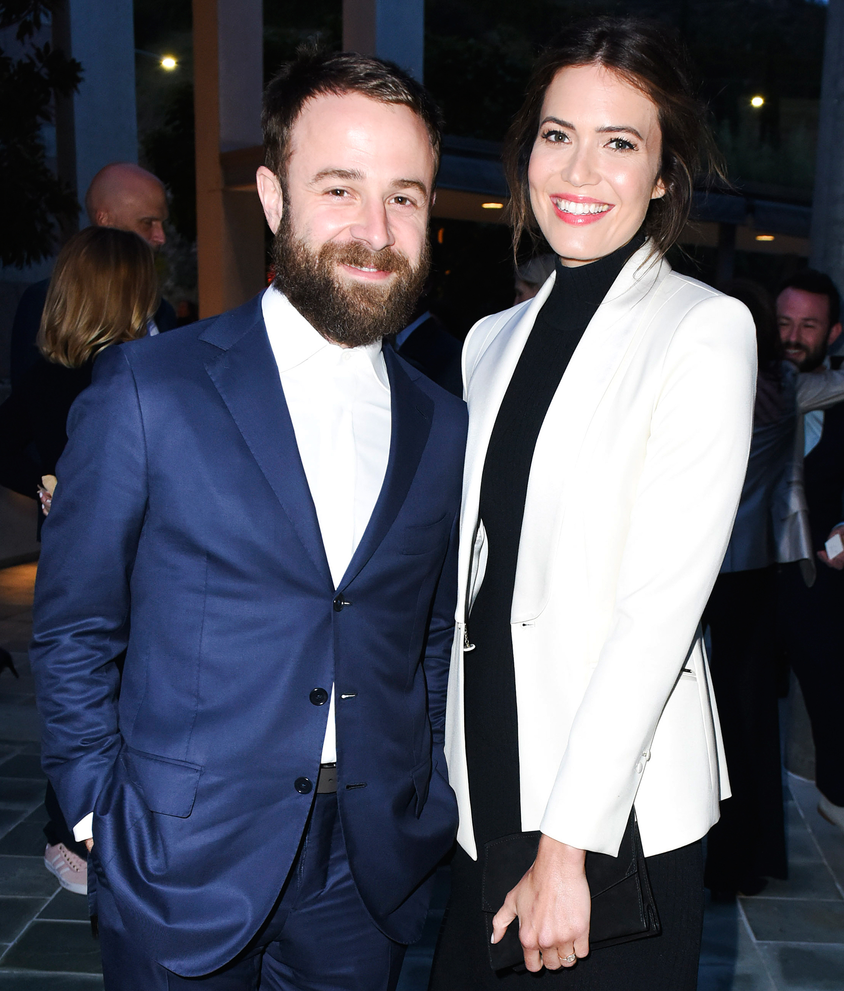 Mandy Moore Taylor Goldsmith Married - The couple exchanged vows in an intimate backyard wedding at their L.A. home on November 18. Guests included her This Is Us costars Milo Ventimiglia, Chrissy Metz and Sterling K. Brown, as well as her ex Wilmer Valderrama and best friend Minka Kelly.