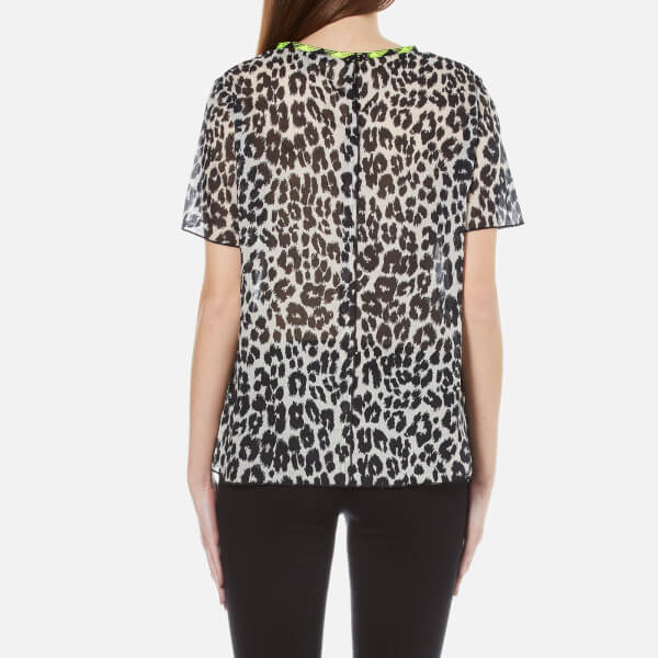 Marc Jacobs Leopard Printed Tee