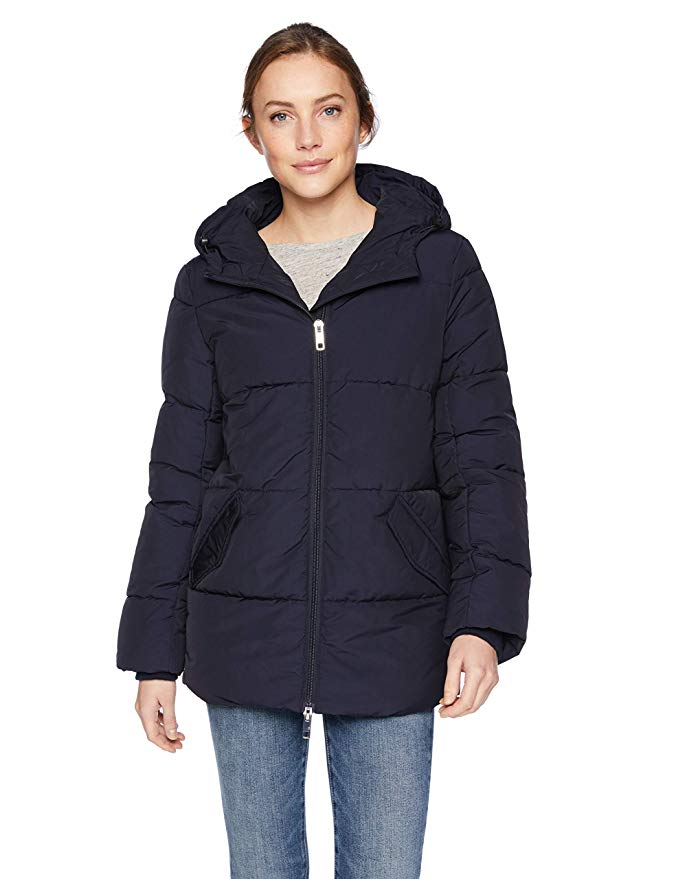 Mid-Length Wate-Resistant Primaloft Puffer Jacket