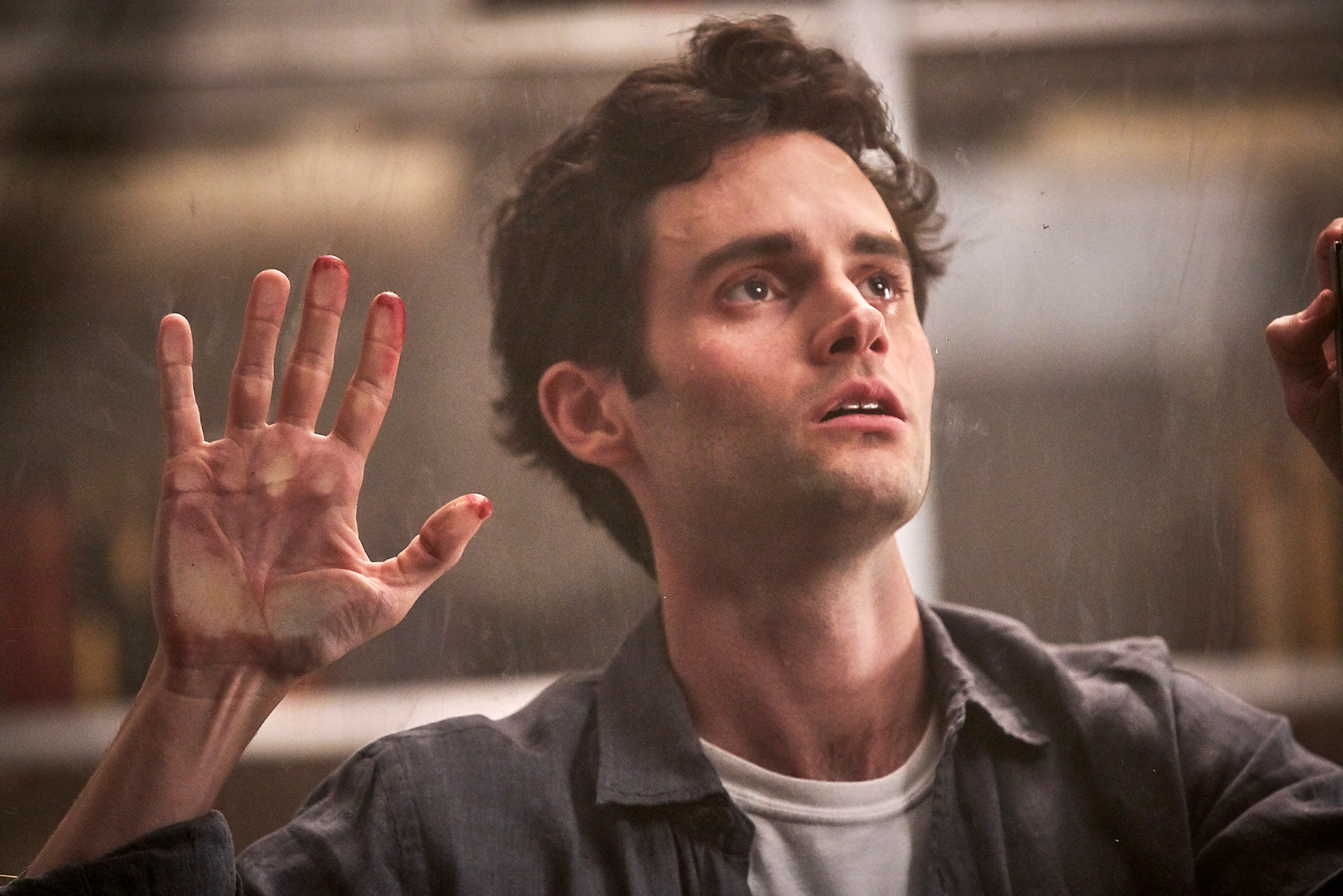 Penn-Badgley-You - While Badgley made Us fall in love during Gossip Girl , he shed that entire skin during You . The actor managed to play the horrifying Joe Goldberg in a way that was both sexy and scary: you didn't know whether to root for him or run from him.