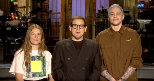 Maggie Rogers, Jonah Hill, and Pete Davidson