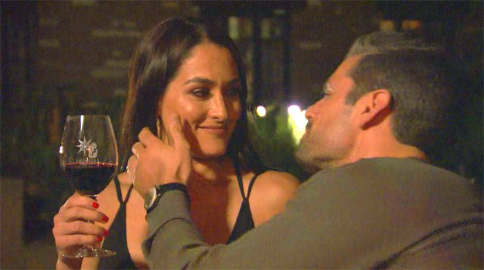 Nikki Bella and Peter Kraus on a date.