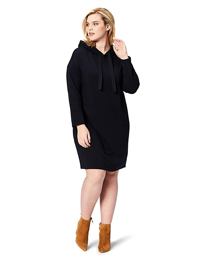 Plus Size Terry Cotton and Modal Sweatshirt