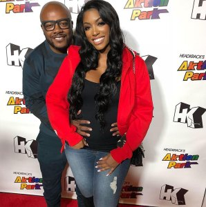 Porsha Wlliams and Dennis McKinley