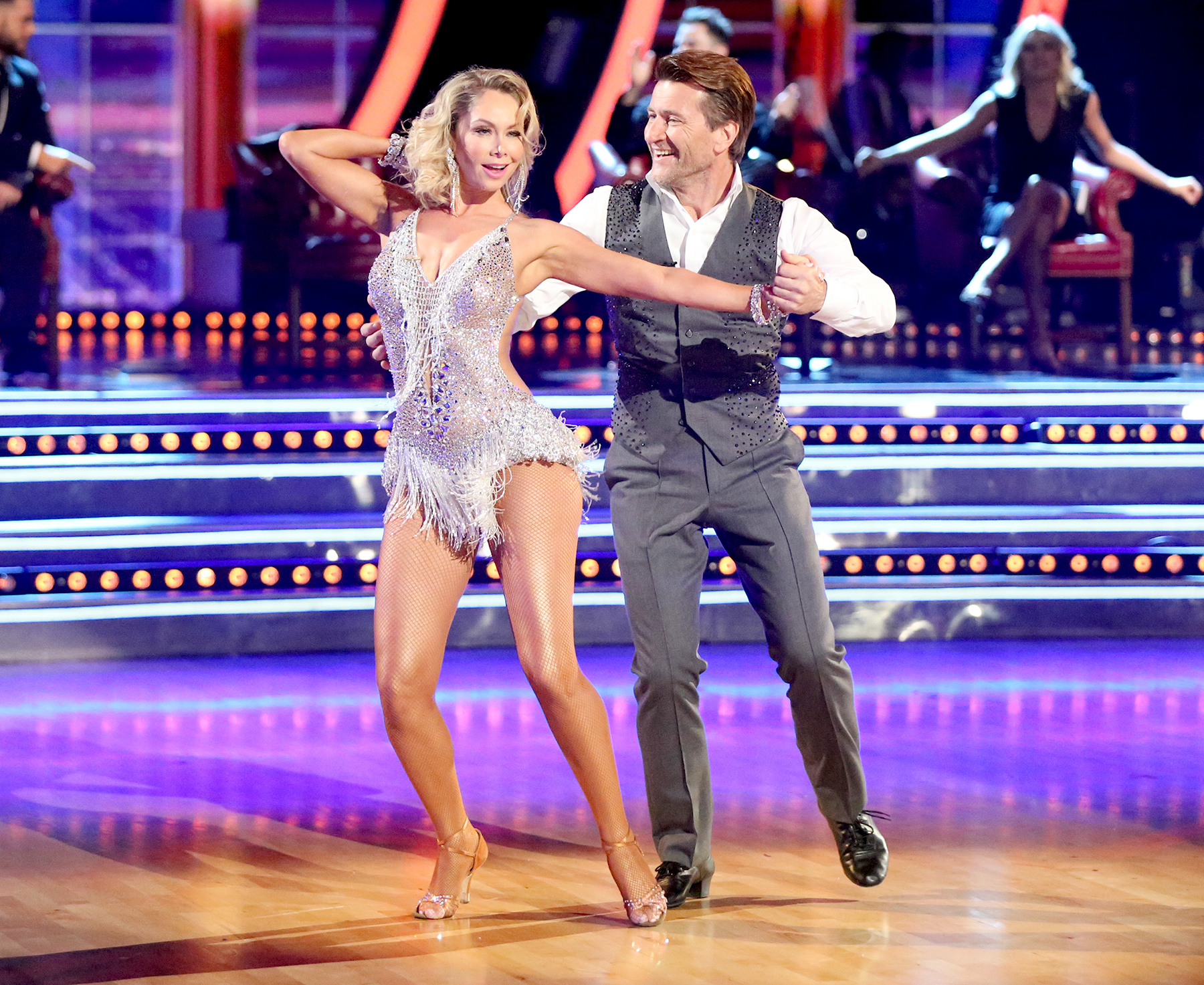 Are mark and whitney from dancing with the stars hookup