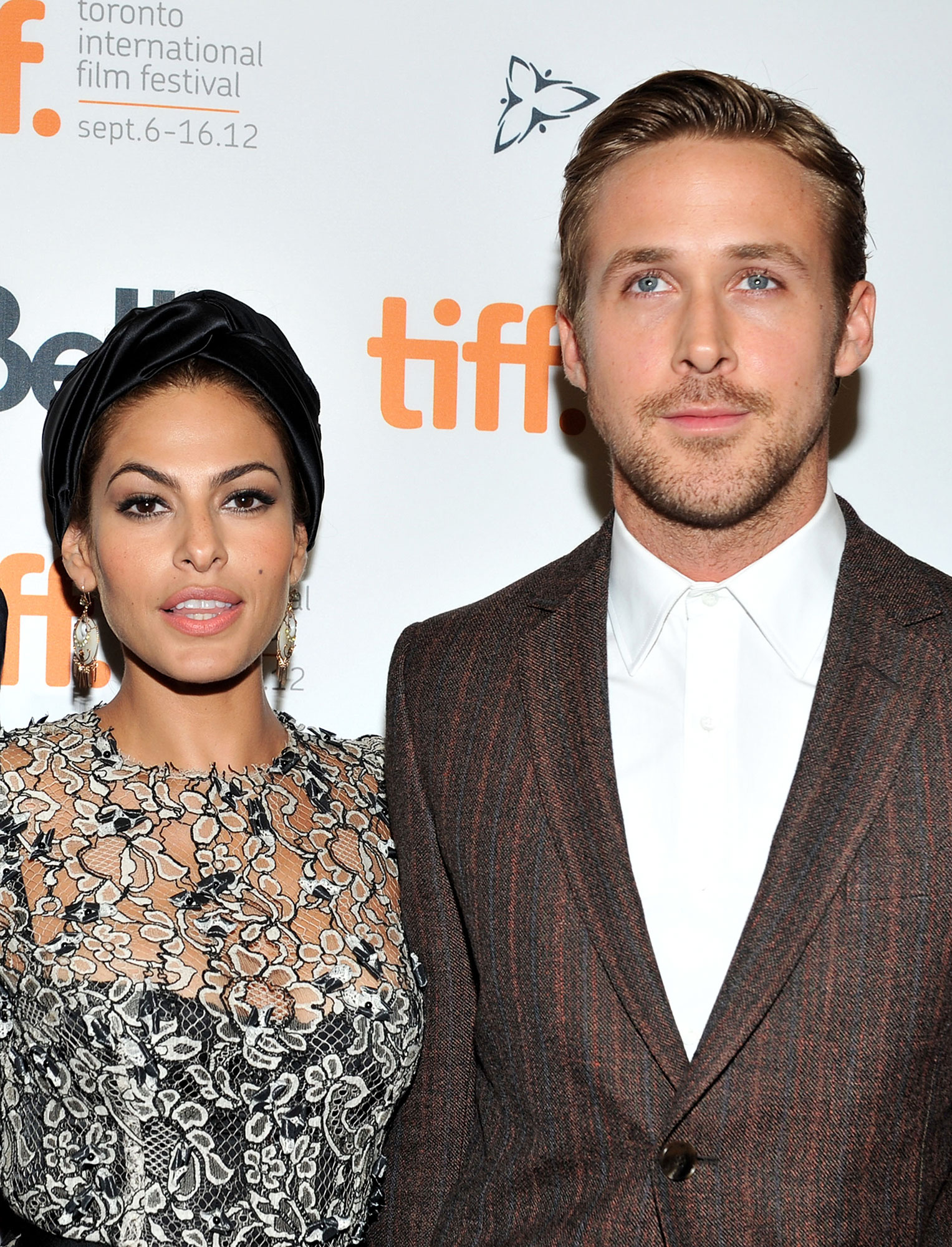 Eva Mendes and Ryan Gosling - The Place Beyond the Pines costars debuted another joint project , daughter Esmerelda, in September 2014. Mendes nearly kept the pregnancy a secret the entire time, but Us broke the news when she was around seven months pregnant.