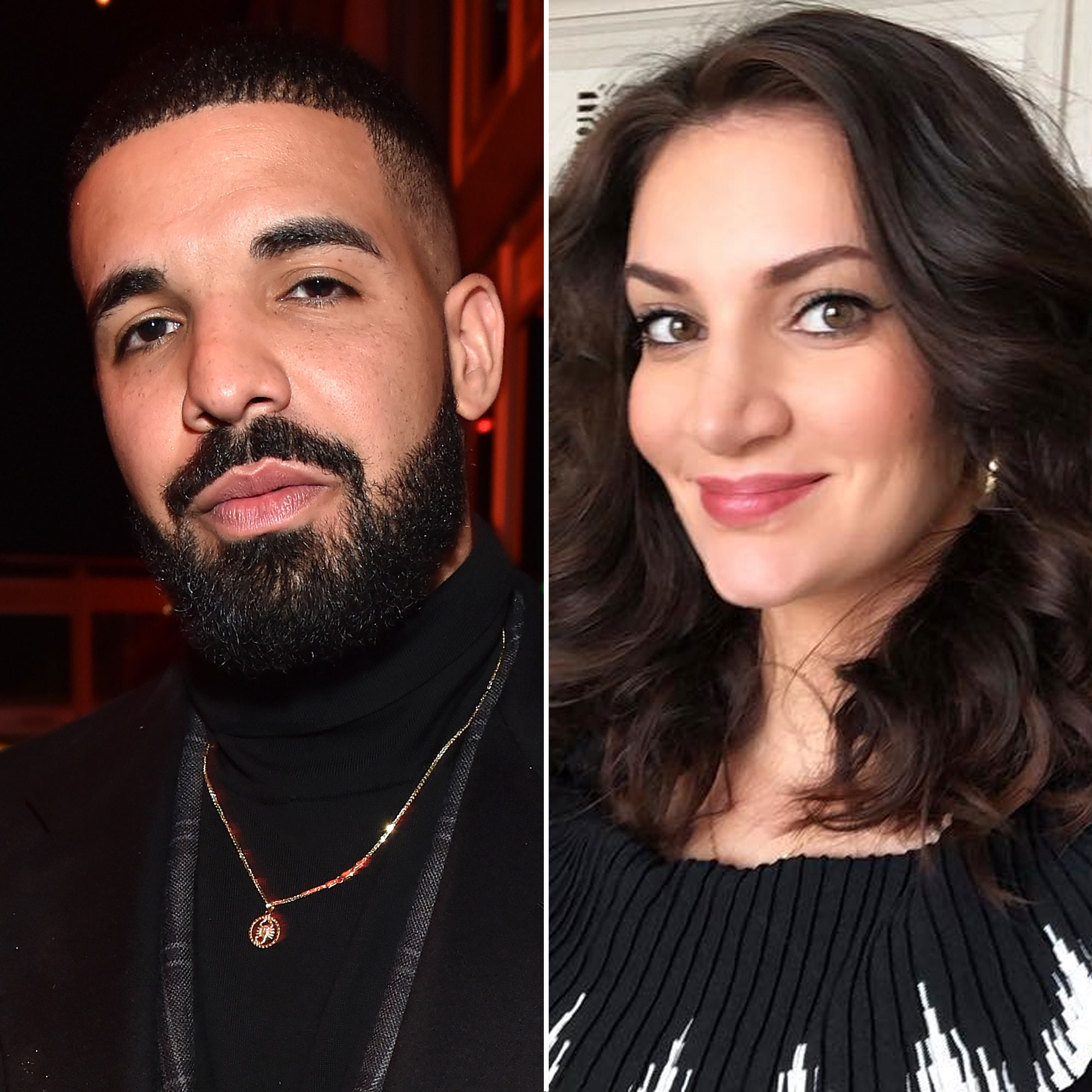 Drake and Sophie Brussaux - The Canadian rapper confirmed he and the adult film actress had an 8-month-old son , Adonis, on his album Scorpion in June 2018, a month after Pusha T leaked the news through a diss track.