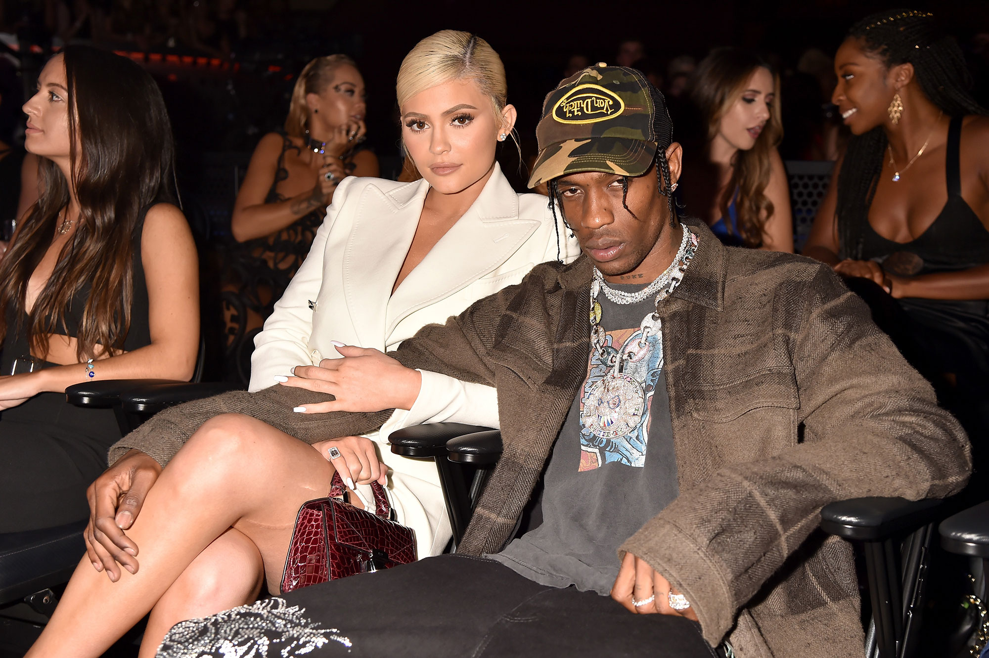 Kylie Jenner and Travis Scott - Kylie Jenner and Travis Scott attend the 2018 MTV Video Music Awards at Radio City Music Hall on August 20, 2018 in New York City.