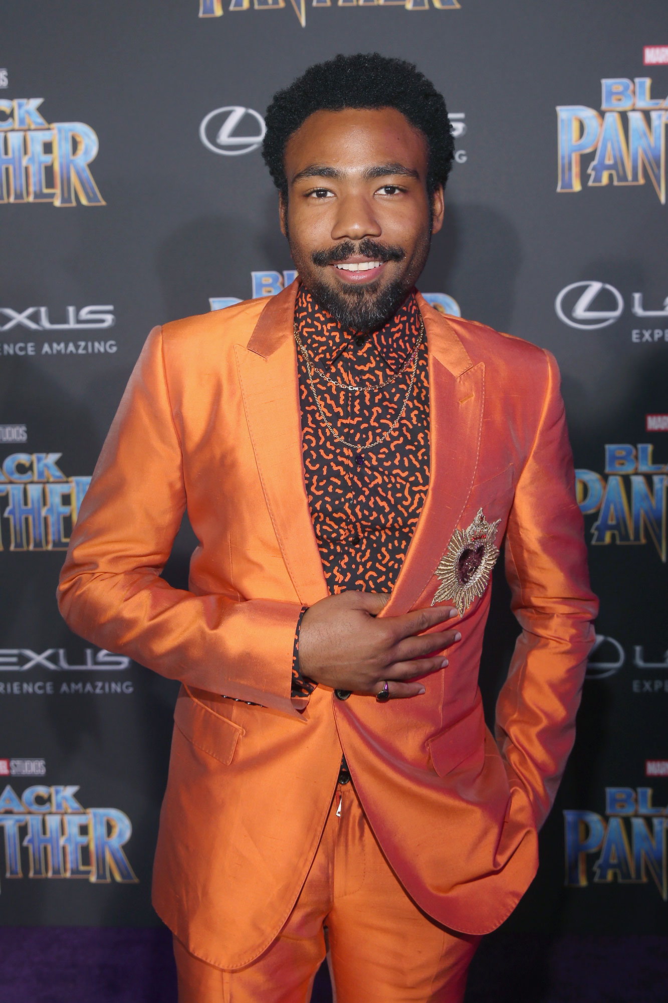 Donald Glover - Us confirmed in October 2016 that the Atlanta actor and his then-unknown partner, later identified only as Michelle , had quietly welcomed a son . Glover later revealed the little boy's name: Legend.