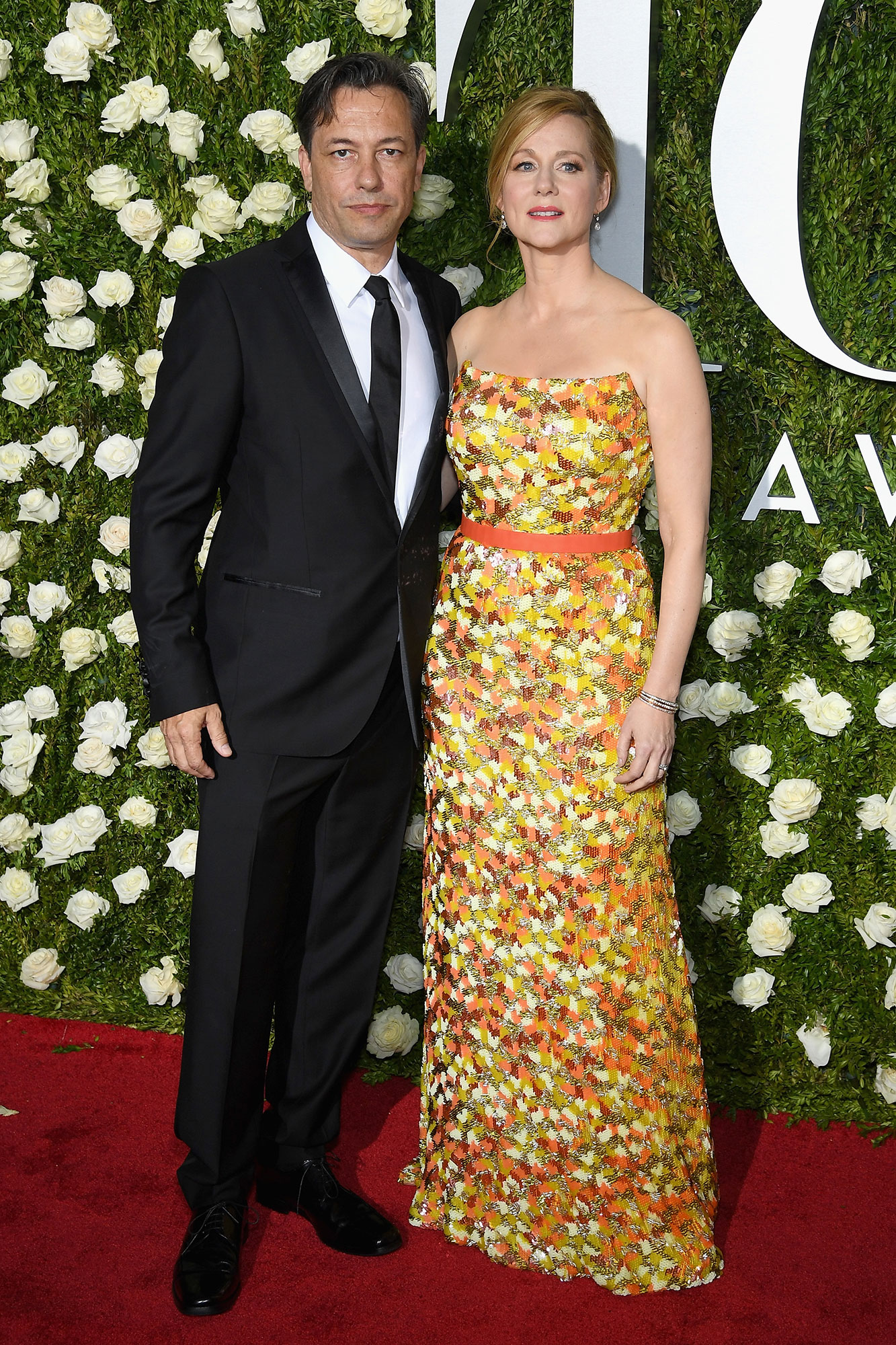 Marc Schauer and Laura Linney - The Ozark actress and her husband met son Bennett in January 2014 after a pregnancy so secret that she wasn't even photographed with a baby bump.