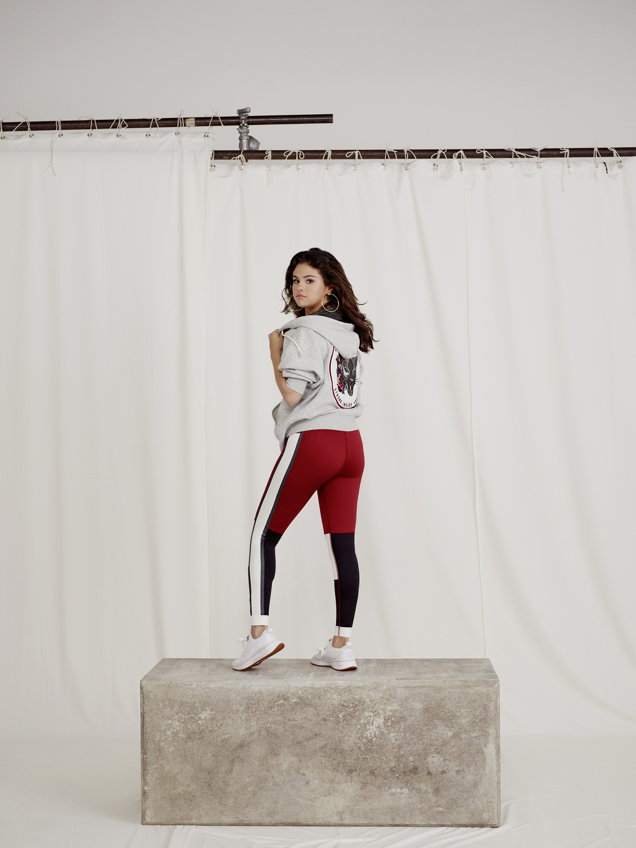 4072c05ed Selena Gomez s SG x Puma Strong Girl Clothing Collection  Pics