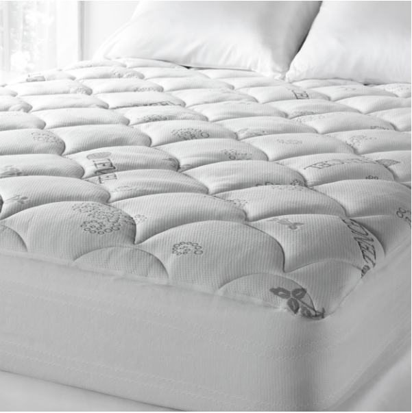 Soft Spa Luxe Cool Touch Tencel Blend Deep Pocket Mattress Pad - California King