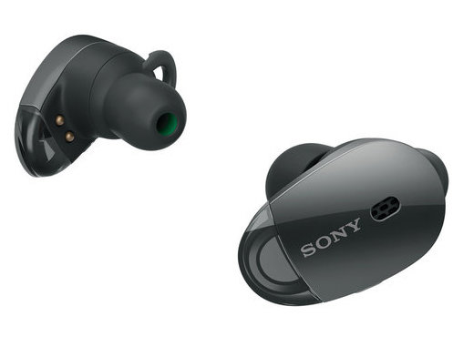 Sony WF-1000X True Wireless Noise-Cancelling Earbuds with Built-In Mic