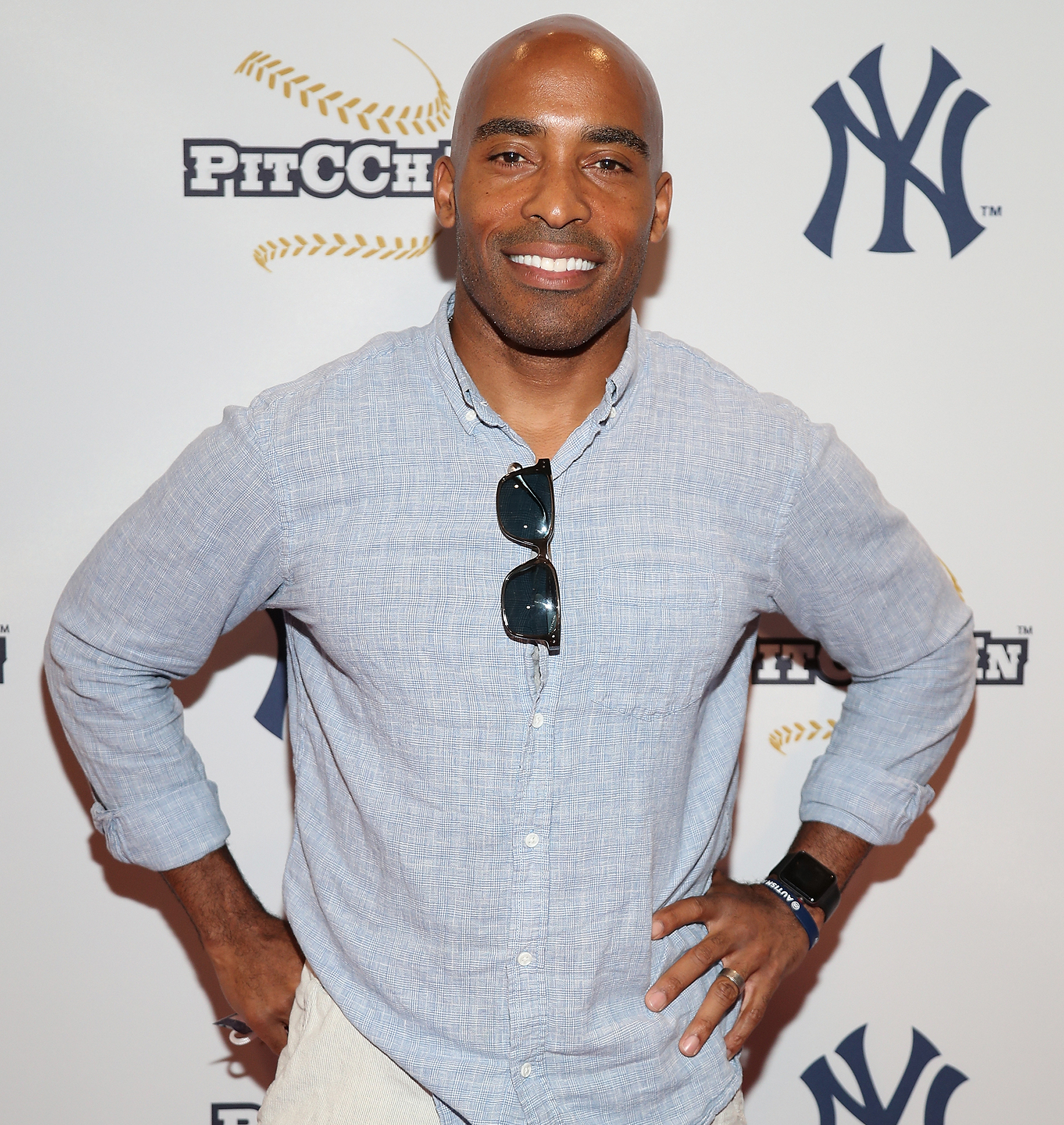 Tiki-Barber - He's practically a pro!