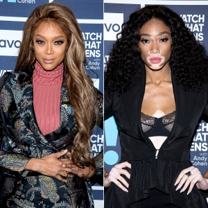 tyra banks after winnie harlow shades antm i discovered her