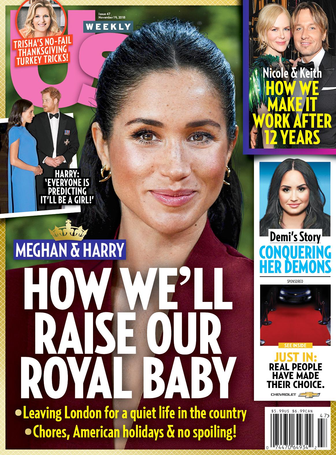 Us Weekly Cover Duchess Meghan - US4718 Us Weekly Cover Duchess Meghan