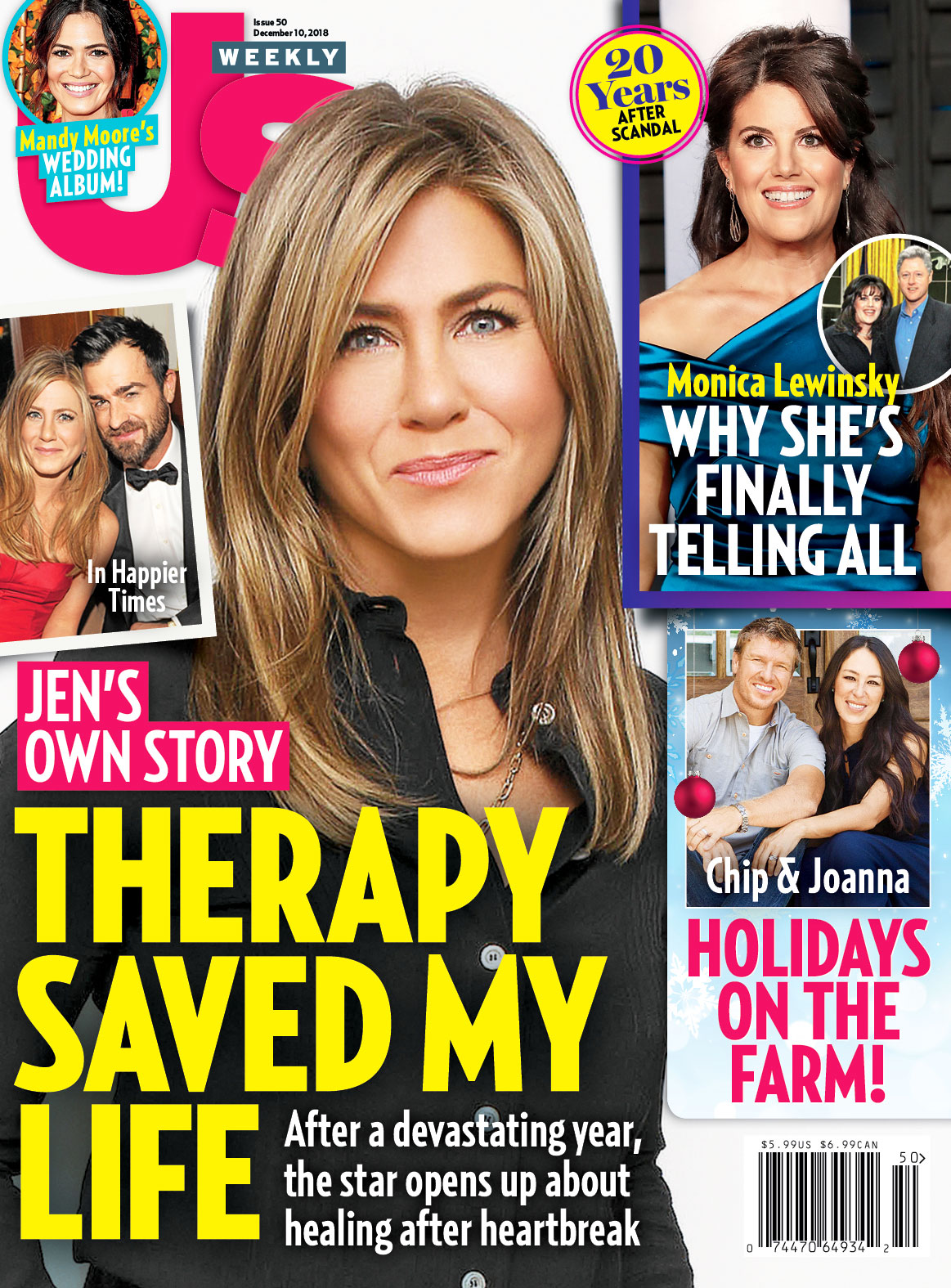 Us Weekly Cover Jennifer Aniston