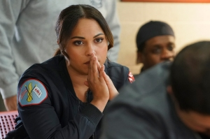 'Chicago Fire' Boss Derek Haas Answers Your Burning Questions About Monica Raymund's Return