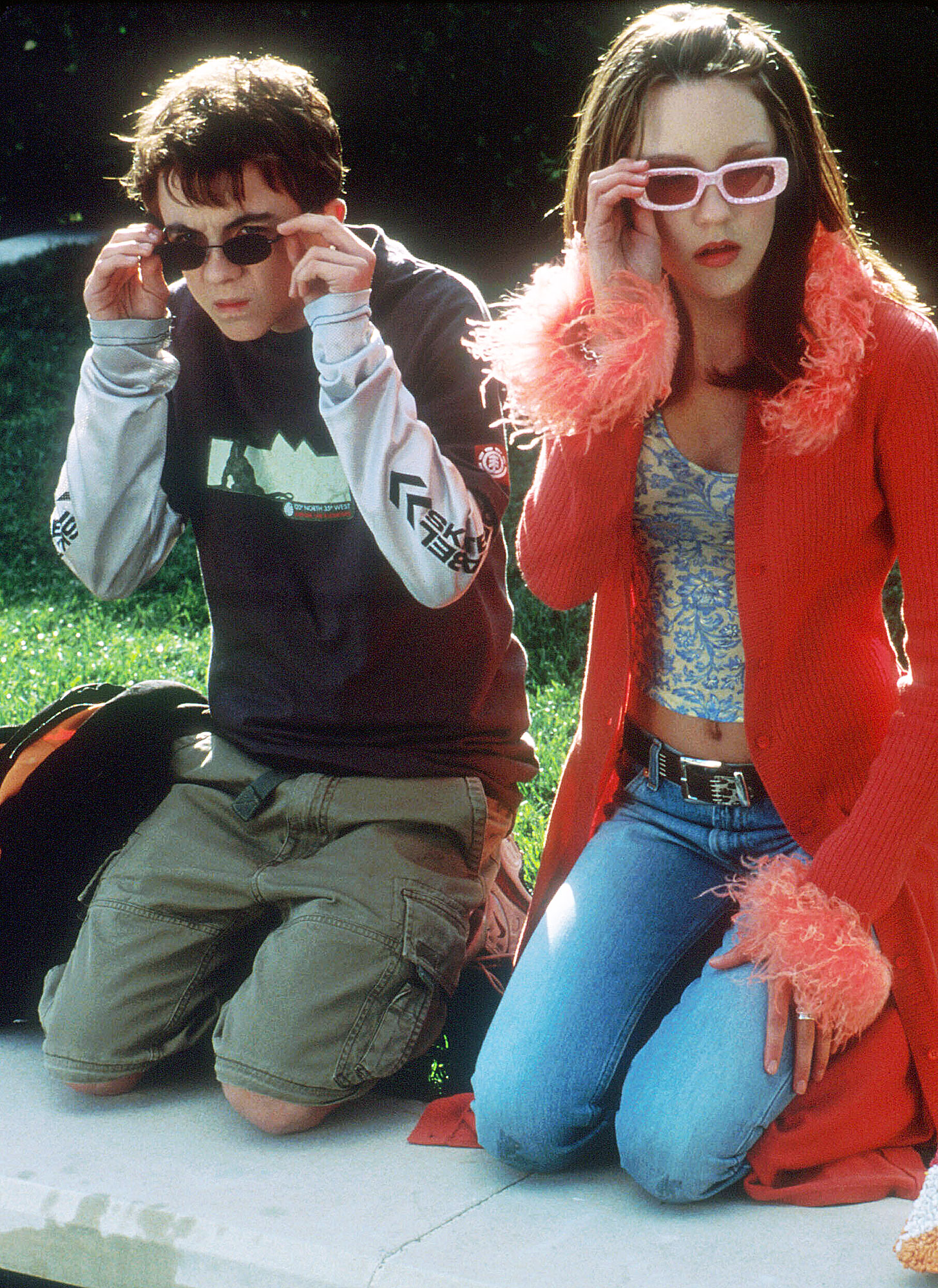 Amanda Bynes Through The Years Big Fat Liar - The actress made her feature film debut in 2002's Big Fat Liar , costarring Frankie Muniz . The movie, also starring Paul Giamatti and Sandra Oh , earned an impressive $48 million domestically.