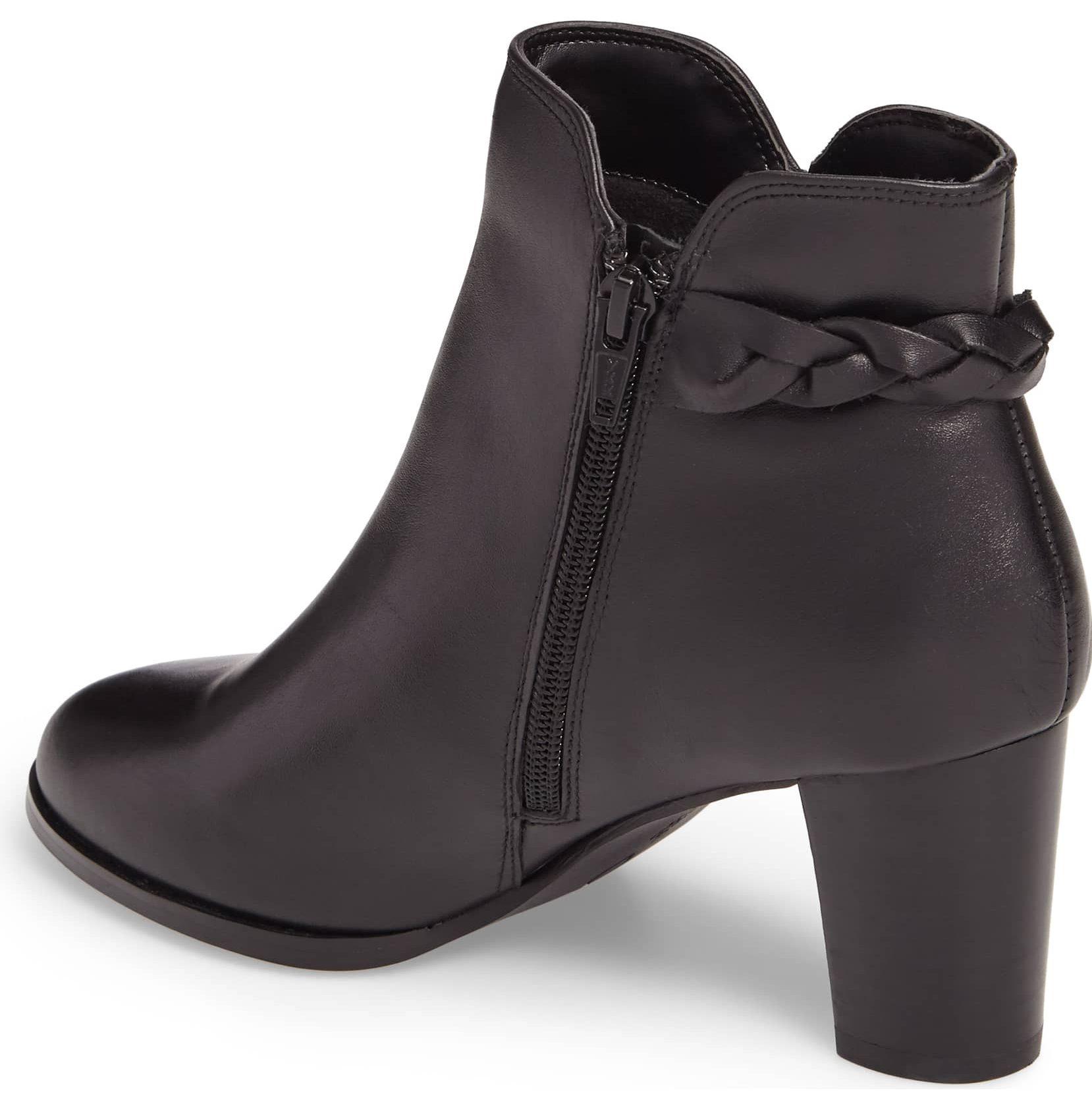 black ankle bootie david tate doran
