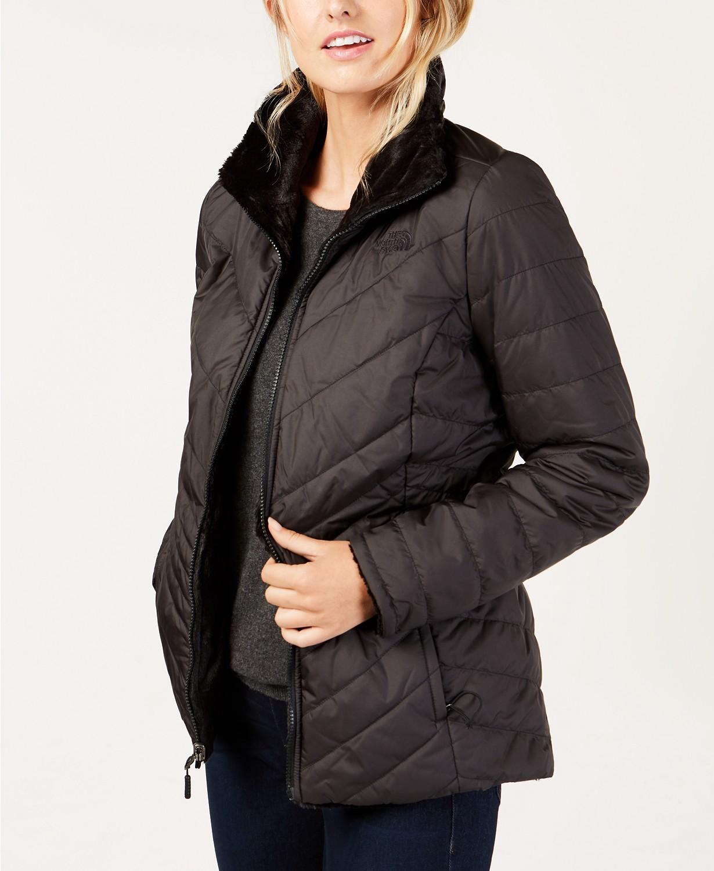 black reversible jacket fleece macys
