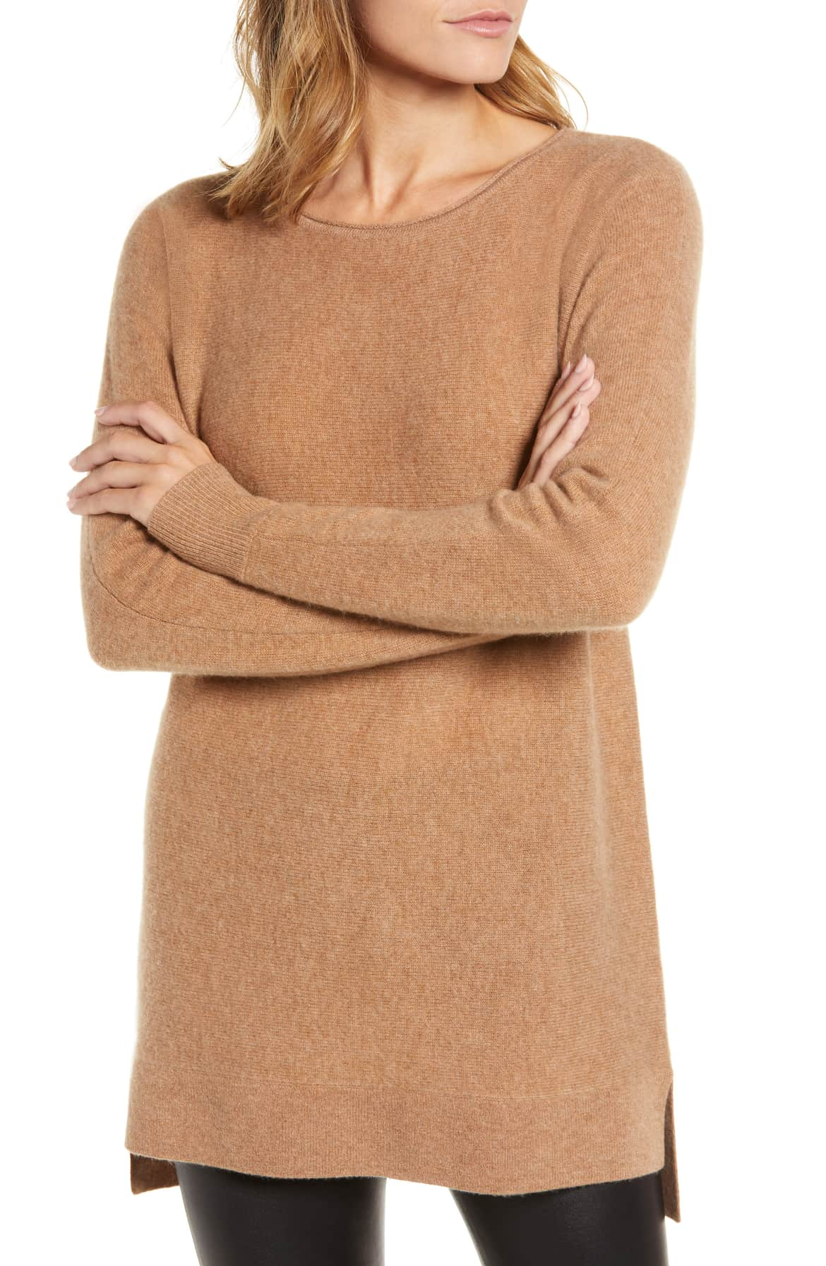 cashmere and wool sweater