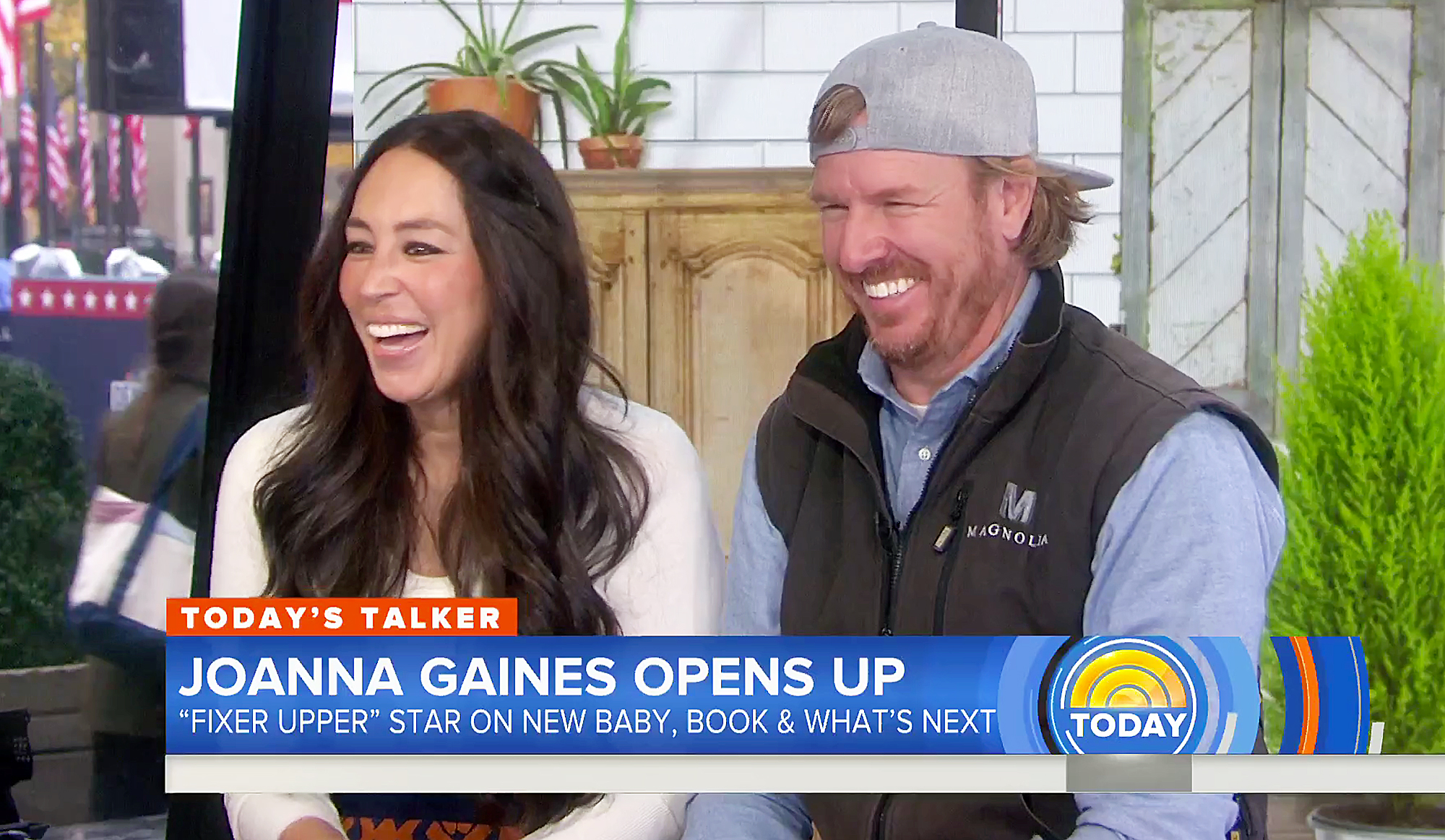 Chip Gaines Joanna Gaines Crew Gaines Today Show