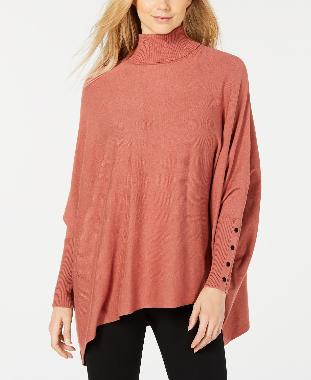 copper poncho sweater