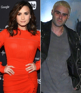 Demi Lovato and Henry Levy