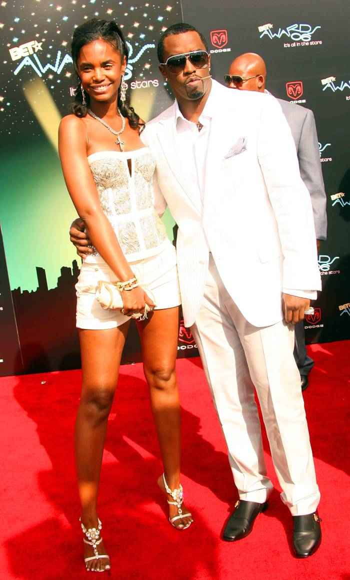 Sean 'P. Diddy' Combs and Kim Porter