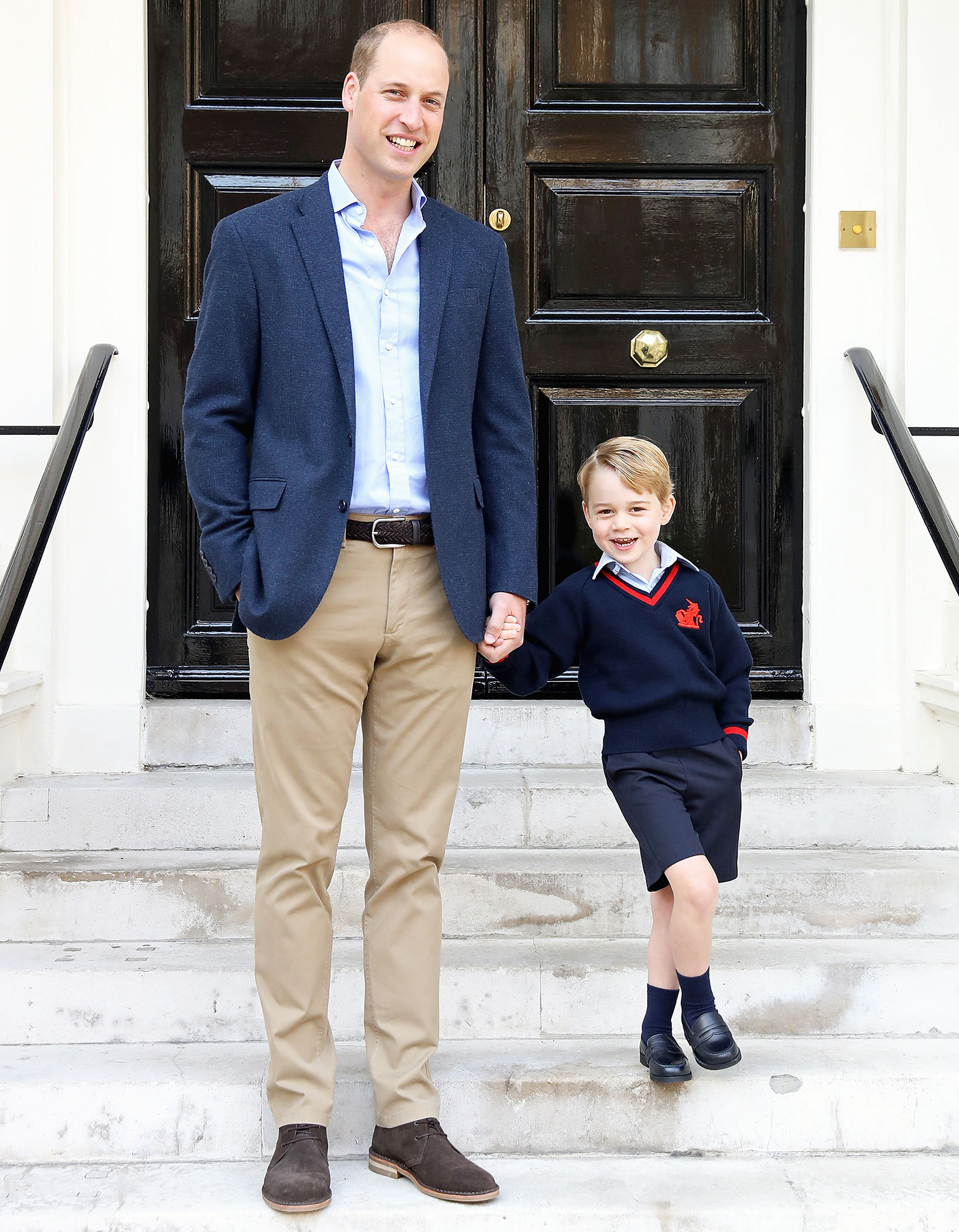 Duchess Kate Reveals Prince George Nickname For Prince William